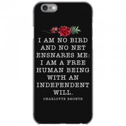 charlotte bronte for dark iPhone 6/6s Case | Artistshot