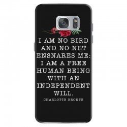 charlotte bronte for dark Samsung Galaxy S7 Case | Artistshot