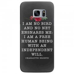 charlotte bronte for dark Samsung Galaxy S7 Edge Case | Artistshot