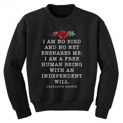 charlotte bronte for dark Youth Sweatshirt | Artistshot