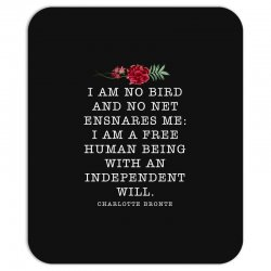 charlotte bronte for dark Mousepad | Artistshot
