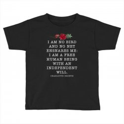 charlotte bronte for dark Toddler T-shirt | Artistshot