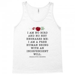 charlotte bronte for light Tank Top | Artistshot