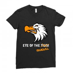eye of the seagull for dark Ladies Fitted T-Shirt | Artistshot