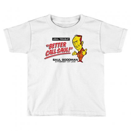 Better Call Saul Toddler T-shirt Designed By Motleymind