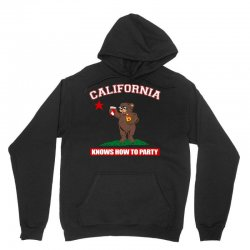 California Knows How to Party Unisex Hoodie | Artistshot