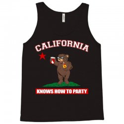 California Knows How to Party Tank Top | Artistshot