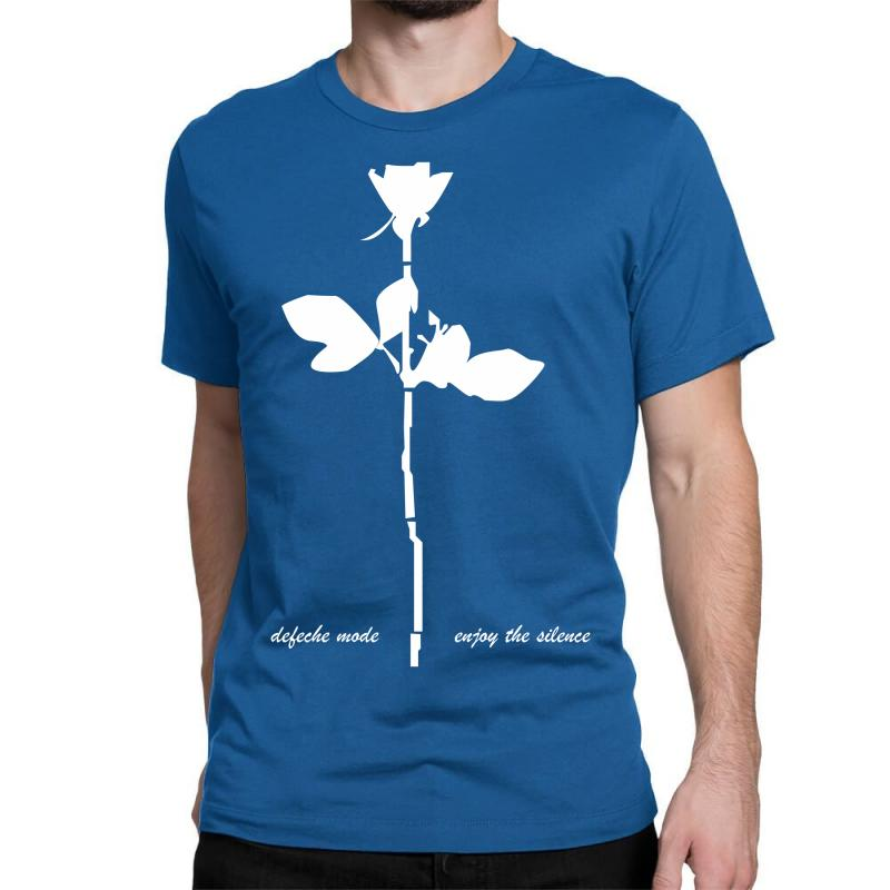 f627d94a85 Custom Depeche Mode Violator Enjoy The Silence Mens Music Classic T-shirt  By Mdk Art - Artistshot