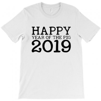 Happy Year Of The Pig 2019 T-shirt Designed By Blqs Apparel