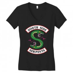 south side serpents riverdale Women's V-Neck T-Shirt | Artistshot