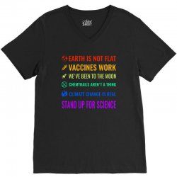 stand up for science V-Neck Tee | Artistshot