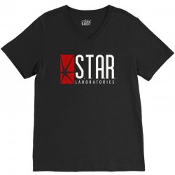 star labs red V-Neck Tee | Artistshot
