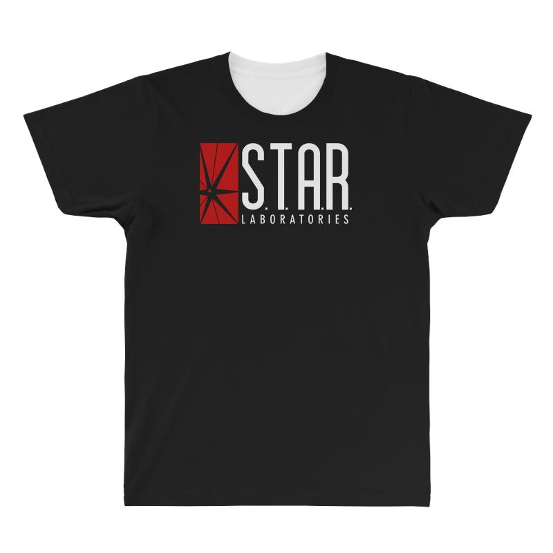 Star Labs Red All Over Men's T-shirt | Artistshot