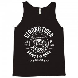 strong tiger   king of the forest Tank Top | Artistshot