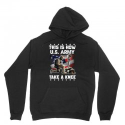 this how us army take a knee Unisex Hoodie | Artistshot