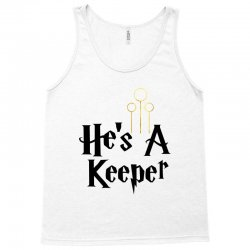 he is a keeper for light Tank Top | Artistshot