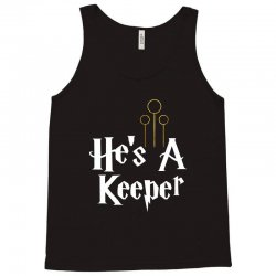 he is a keeper for dark Tank Top | Artistshot