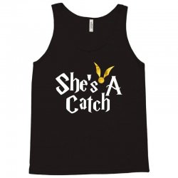 she is a catch for dark Tank Top | Artistshot