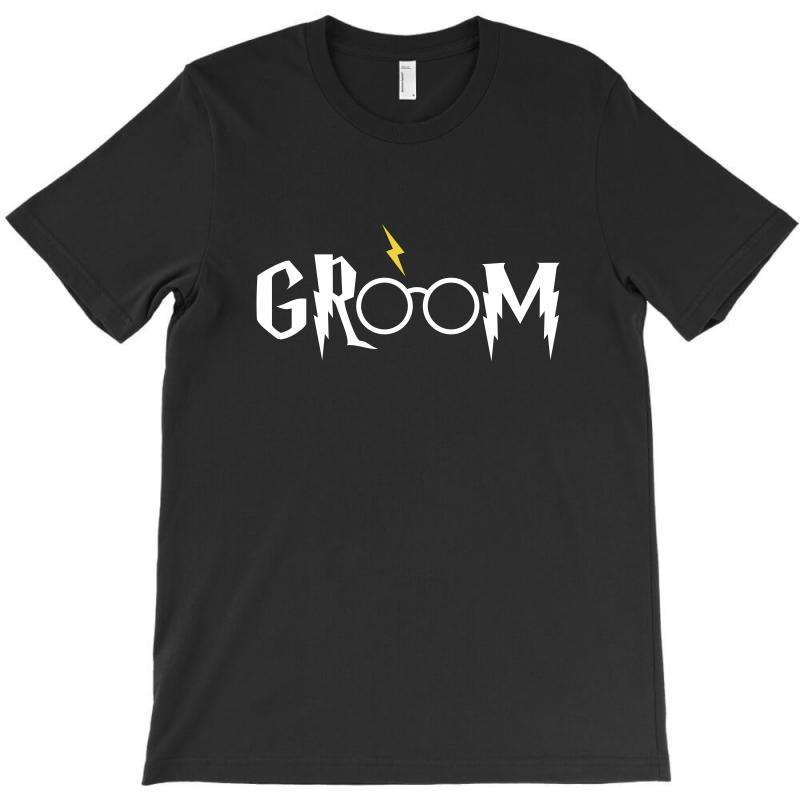 Groom For Dark T-shirt | Artistshot