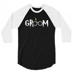 groom for dark 3/4 Sleeve Shirt | Artistshot