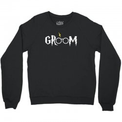 groom for dark Crewneck Sweatshirt | Artistshot