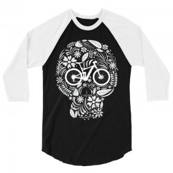 skull bike 3/4 Sleeve Shirt | Artistshot