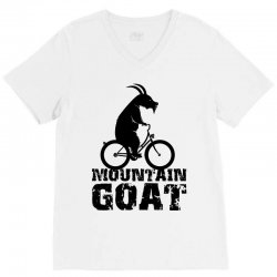 mountain goat V-Neck Tee | Artistshot