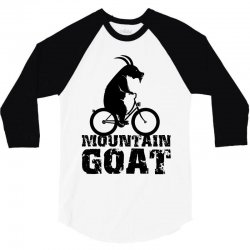 mountain goat 3/4 Sleeve Shirt | Artistshot