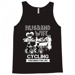 husband and wife cycling partners for life Tank Top | Artistshot