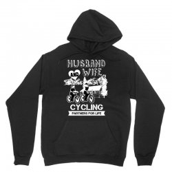 husband and wife cycling partners for life Unisex Hoodie | Artistshot