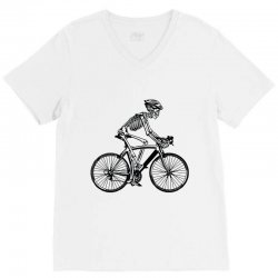 cycle skull V-Neck Tee | Artistshot