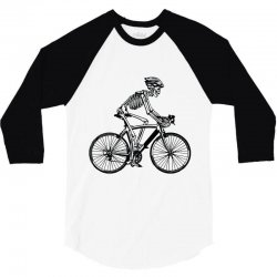 cycle skull 3/4 Sleeve Shirt | Artistshot