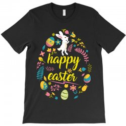 happy easter day egg T-Shirt | Artistshot
