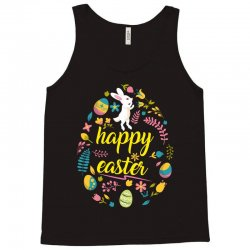 happy easter day egg Tank Top | Artistshot