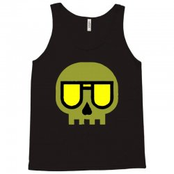 sunset skull Tank Top | Artistshot