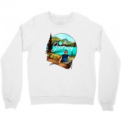 the journey Crewneck Sweatshirt | Artistshot