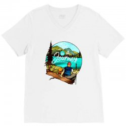 the journey V-Neck Tee | Artistshot