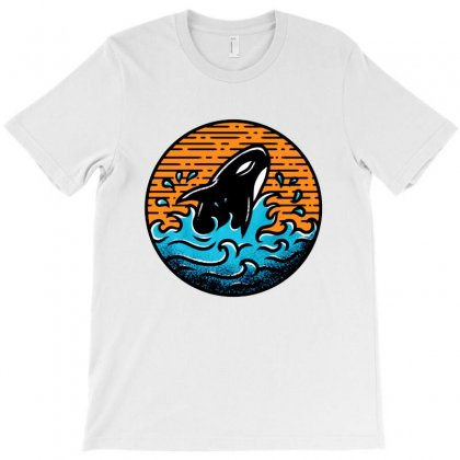 Whale T-shirt Designed By Ninabobo