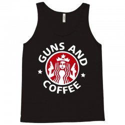 guns and coffee Tank Top | Artistshot