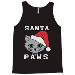 santa paws cat kitten ugly christmas Tank Top | Artistshot
