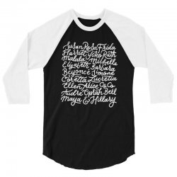 fierce females 3/4 Sleeve Shirt | Artistshot