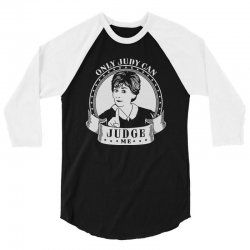 only judy can judge me 3/4 Sleeve Shirt | Artistshot