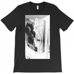 Cat on the turntable T-Shirt | Artistshot