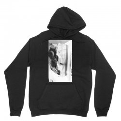 Cat on the turntable Unisex Hoodie | Artistshot