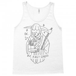 ok, but first coffee (for light) Tank Top | Artistshot