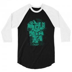 the mountain is calling i must 3/4 Sleeve Shirt | Artistshot