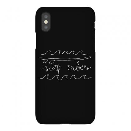 Surf Vibes Typo (for Dark) Iphonex Case Designed By Quilimo