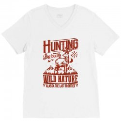 wild nature V-Neck Tee | Artistshot