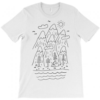 Quietness (for Light) T-shirt Designed By Quilimo