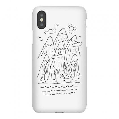 Quietness (for Light) Iphonex Case Designed By Quilimo